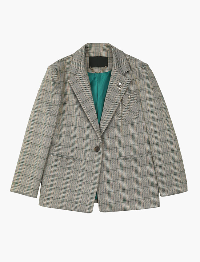 SHIELD CHECK JACKET
