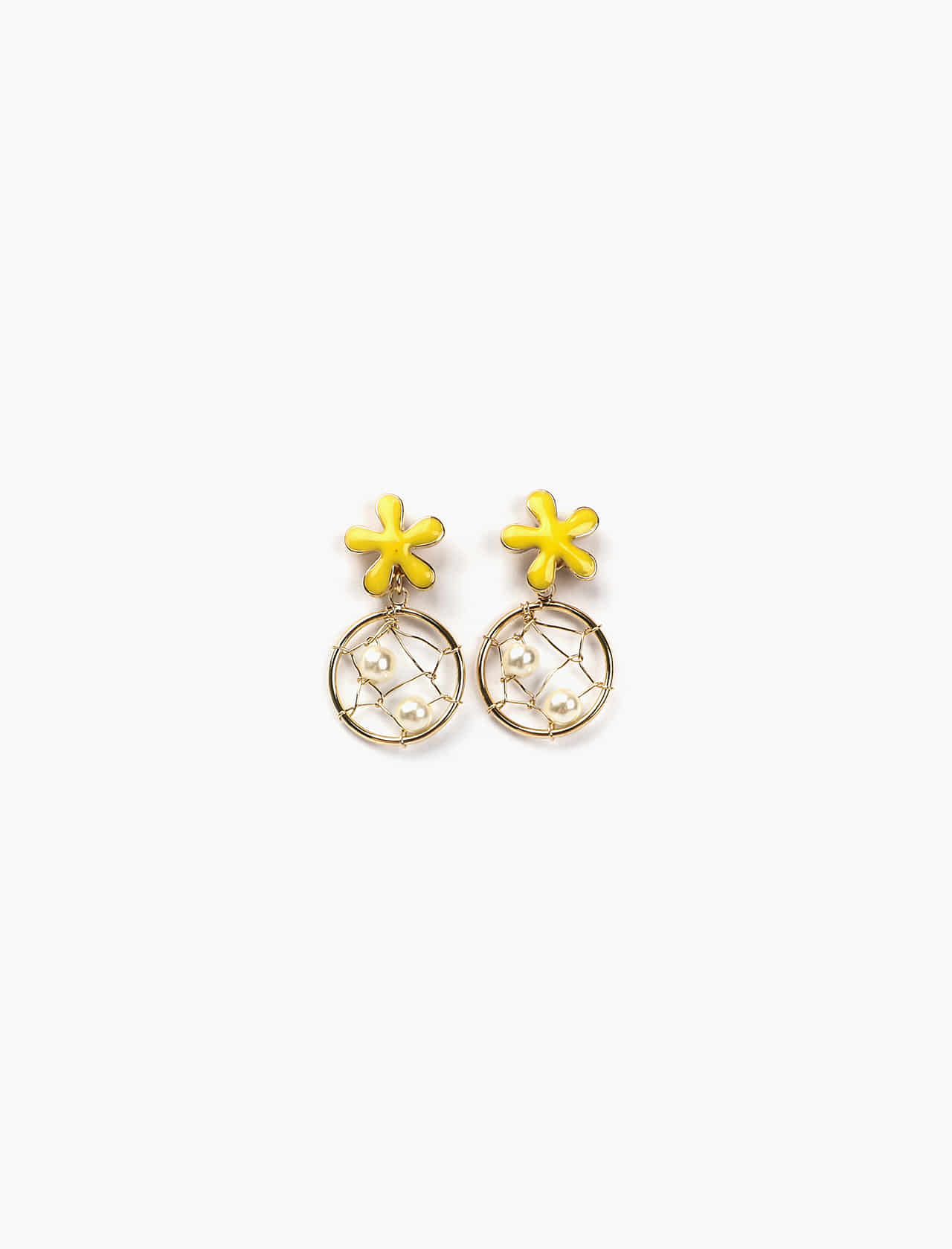 FORSYTHIA EARRING